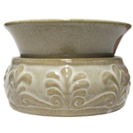 Electric Scented Wax & Oil Warmer - Fleur De Lis Cream