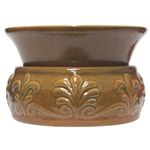 Electric Scented Wax & Oil Warmer - Fleur De Lis Mustard