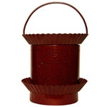 Electric Scented Wax & Oil Warmer - Star Burgundy