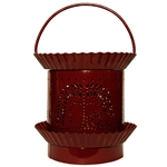 Electric Scented Wax & Oil Warmer - Tree Burgundy