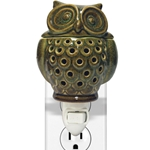 Owl Ceramic Plug In Wax Melter