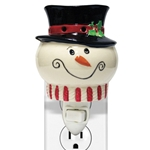 Snowman Ceramic Plug In Wax Melter